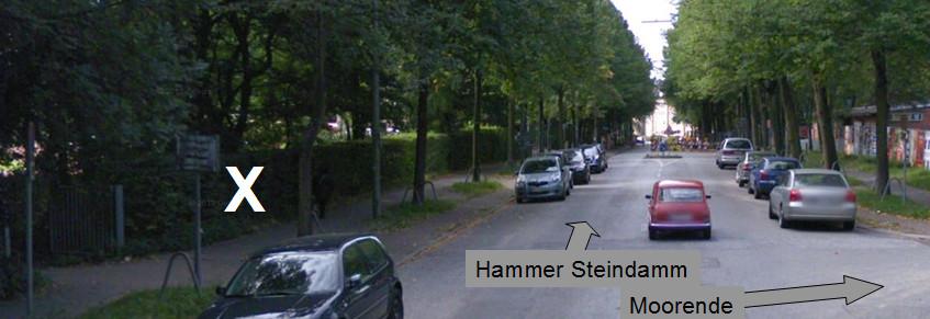 Hammer Park - Nebeneingang